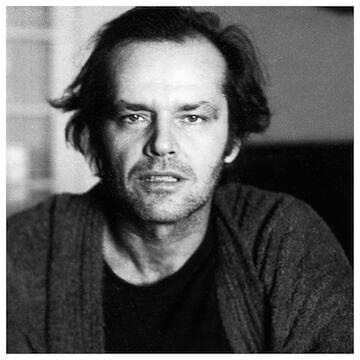 "Jack Nicholson // ""You look at someone long enough, you discover their humanity."""