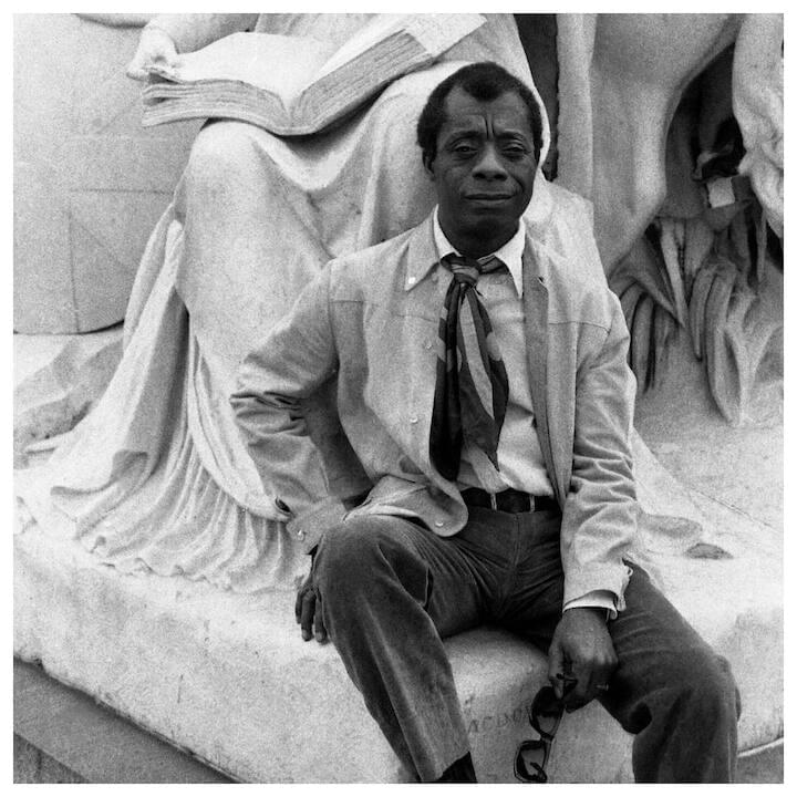 "James Baldwin // ""Perhaps the primary distinction of the artist is that he must actively cultivate that state which most men, necessarily, must avoid: the state of being alone... Most of us are not compelled to linger with the knowledge of our aloneness, for it is a knowledge that can paralyze all action in this world. There are, forever, swamps to be drained, cities to be created, mines to be exploited, children to be fed. None of these things can be done alone. But the conquest of the physical world is not man's only duty. He is also enjoined to conquer the great wilderness of himself. The precise role of the artist, then, is to illuminate that darkness, blaze roads through that vast forest, so that we will not, in all our doing, lose sight of its purpose, which is, after all, to make the world a more human dwelling place."""