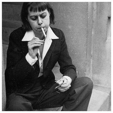 "Carson McCullers // ""I seem strange to you, but anyway I am alive."""