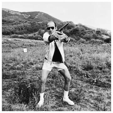 "Hunter S. Thompson // ""You won't find reasonable men at the tops of tall mountains."""
