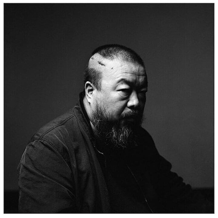 "Ai Weiwei // ""Maybe to be powerful is to be fragile."""