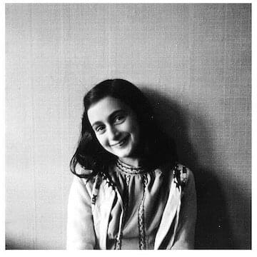 "Anne Frank // ""Writing in a diary is a really strange experience for someone like me. Not only because I've never written anything before, but also because it seems to me that later on neither I nor anyone else will be interested in the musings of a thirteen-year old school girl. Oh well, it doesn't matter. I feel like writing."""