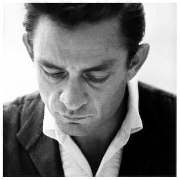 "Johnny Cash // ""This morning, with her, having coffee."""