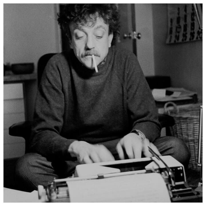 "Kurt Vonnegut // ""I sometimes wondered what the use of any of the arts was. The best thing I could come up with was what I call the 'canary in the coal mine theory'... This theory says that artists are useful to society because they are so sensitive. They are super-sensitive. They keel over like canaries in poison coal mines long before more robust types realize that there is any danger whatsoever."""