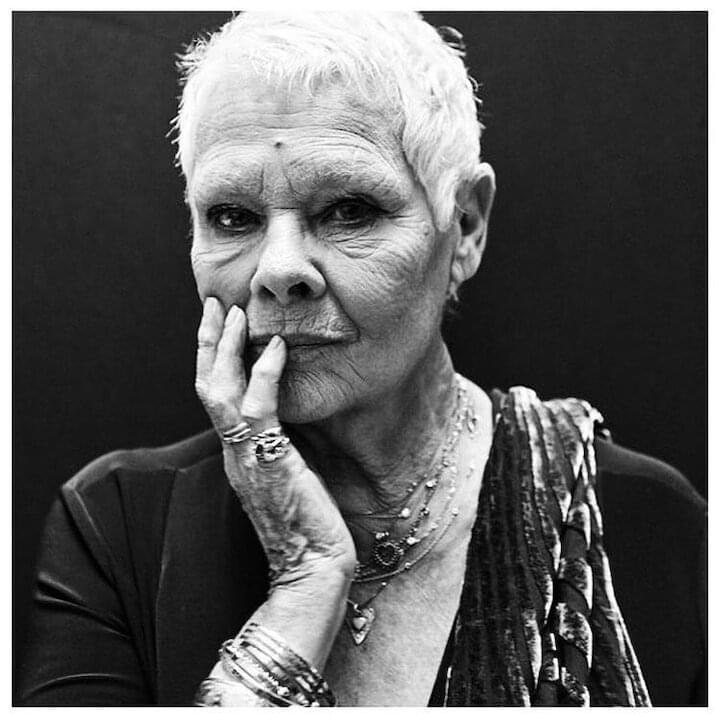 "Judi Dench // ""I thought, how many new lives can we have? Then I thought, as many as we like."""