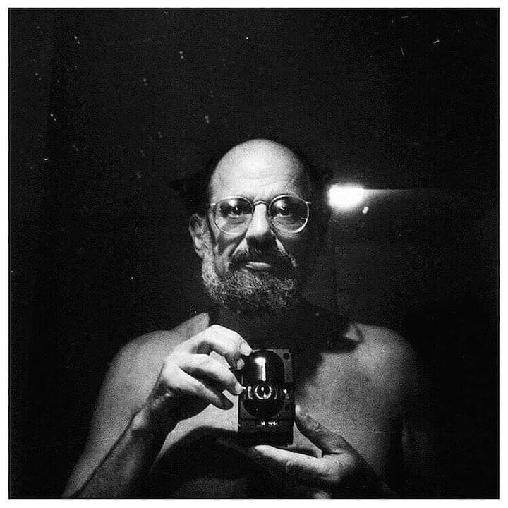 "Allen Ginsberg // ""Follow your inner moonlight; don't hide the madness."""