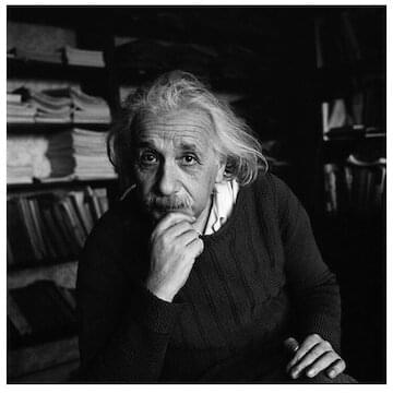 "Albert Einstein // ""Although I am typically a loner in daily life, my consciousness of belonging to the invisible community of those whose strive for truth, beauty and justice has preserved me from feeling isolated."""