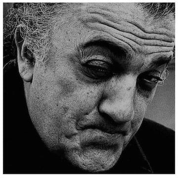 "Federico Fellini // ""If there were a little more silence, if we all kept quiet...maybe we could understand something."""