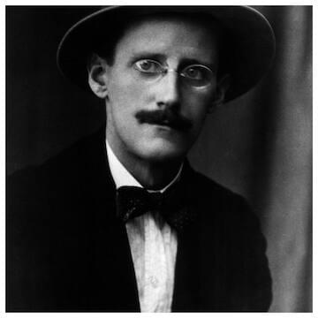 "James Joyce // ""Absence, the highest form of presence."""
