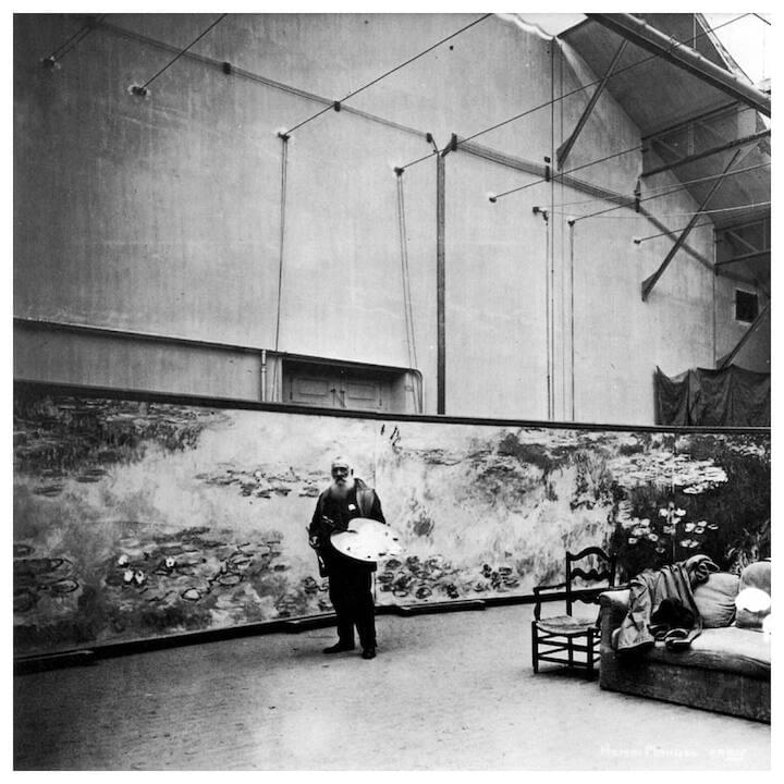 "Claude Monet // ""It really is appallingly difficult to do something which is complete in every respect, and I think most people are content with mere approximations. Well, my dear friend, I intend to battle on, scrape off and start again."""
