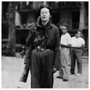 "Simone Weil // ""Pain and suffering are a kind of currency passed from hand to hand until they reach someone who receives them but does not pass them on."""