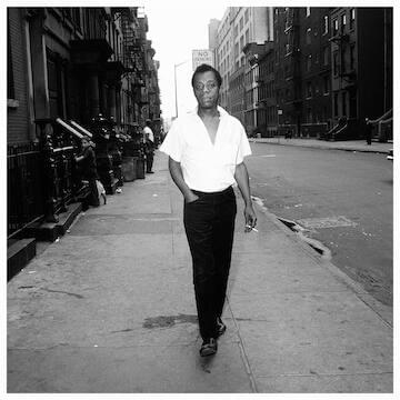 "James Baldwin // ""The place in which I'll fit will not exist until I make it."""