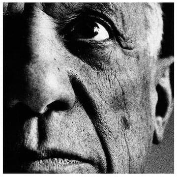 "Pablo Picasso // ""What do you think an artist is? An imbecile who only has eyes, if he is a painter, or ears if he is a musician...or even, if he is a boxer, just his muscles? Far from it: at the same time he is also a political being, constantly aware of the heartbreaking, passionate, or delightful things that happen in the world, shaping himself completely in their image... No, painting is not done to decorate apartments. It is an instrument of war."""