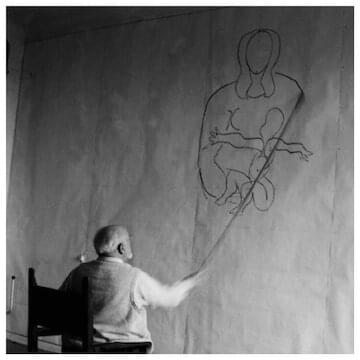 "Henri Matisse // ""The essential thing is to work in a state of mind that approaches prayer."""
