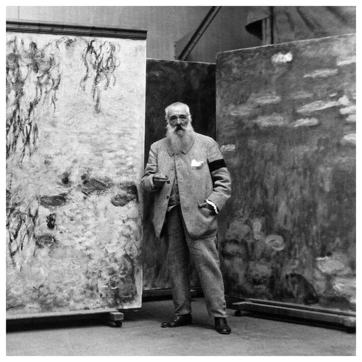 "Claude Monet // ""Every day I discover more and more beautiful things. It's enough to drive one mad. I have such a desire to do everything, my head is bursting with it."""