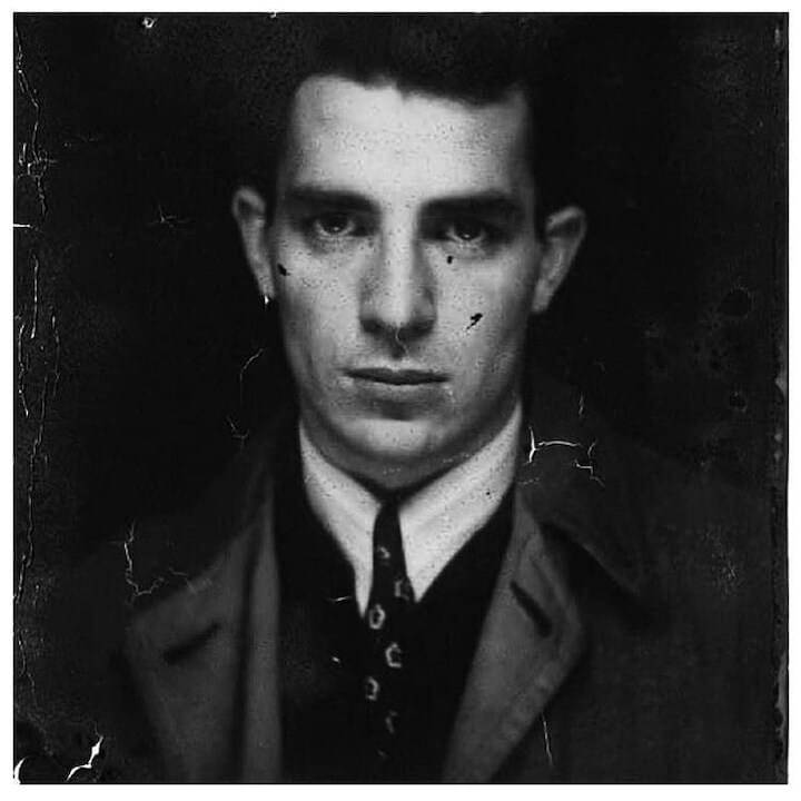 "Jack Kerouac // ""Everything is ecstasy, inside... Close your eyes, let your hands and nerve-endings drop, stop breathing for 3 seconds, listen to the silence inside...and you will remember."""