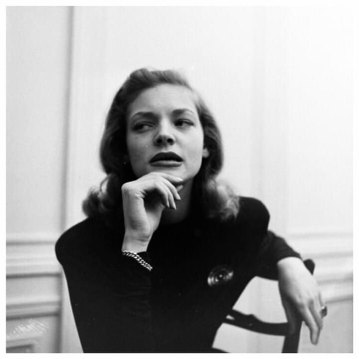 "Lauren Bacall // ""You don't always win your battles, but it's good to know you fought."""