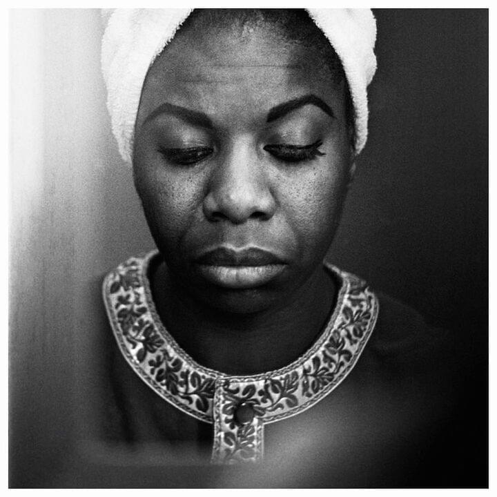 "Nina Simone // ""What kept me sane was knowing that things would change, and it was a question of keeping myself together until they did."""