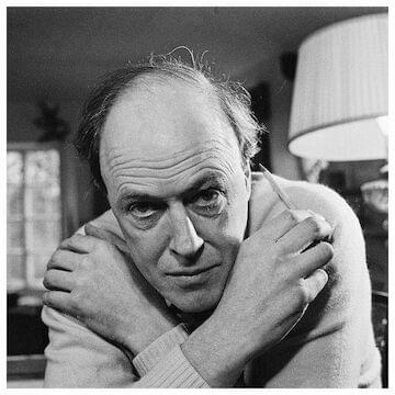 "Roald Dahl // ""If you are interested in something, no matter what it is, go at it full speed ahead. Embrace it with both arms, hug it, love it and above all become passionate about it. Lukewarm is no good. Hot is no good either. White hot and passionate is the only thing to be."""