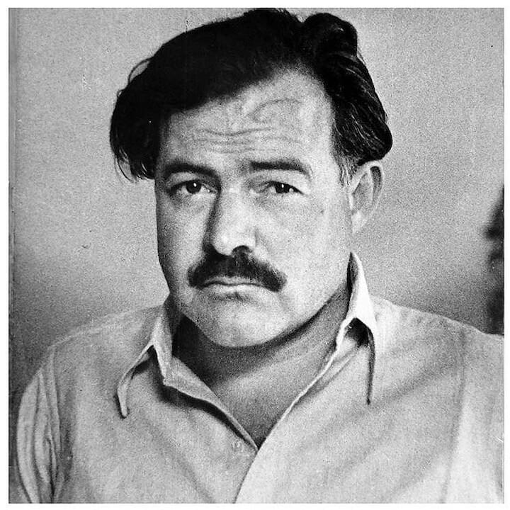 "Ernest Hemingway // ""The best people possess a feeling for beauty, the courage to take risks, the discipline to tell the truth, the capacity for sacrifice. Ironically, their virtues make them vulnerable; they are often wounded, sometimes destroyed."""