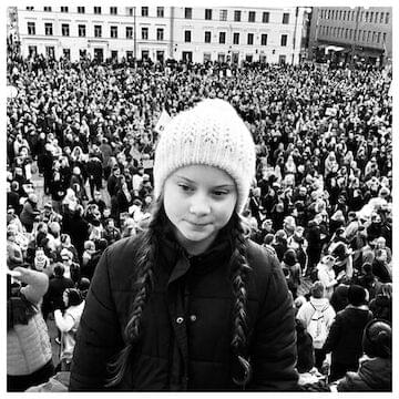 "Greta Thunberg // ""Our house is on fire."""