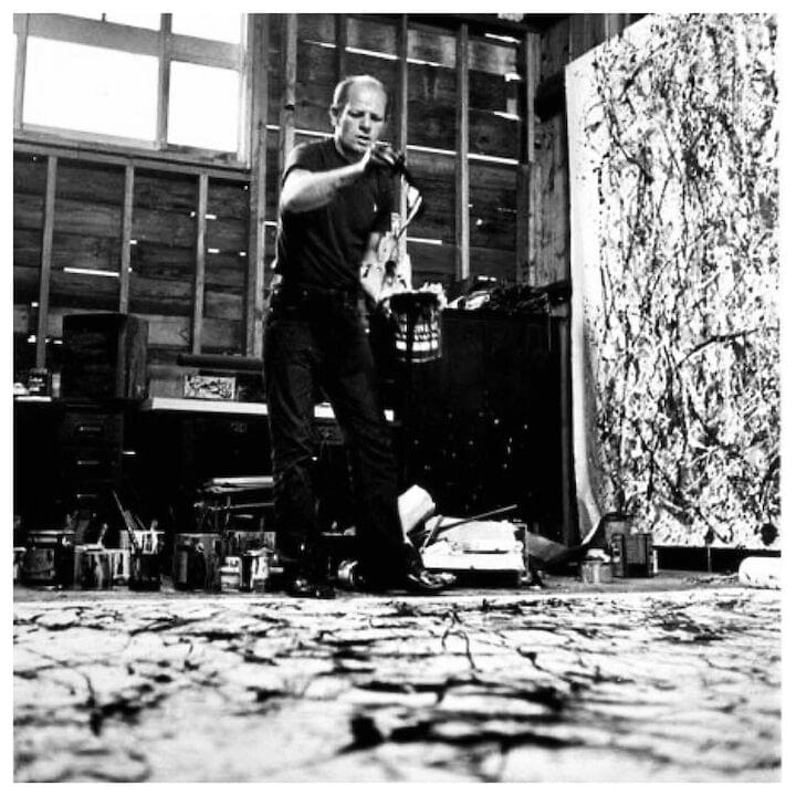 "Jackson Pollock // ""Something in me knows where I'm going."""