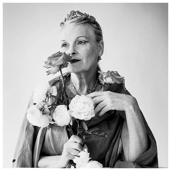 "Vivienne Westwood // ""You've got to invest in the world, you've got to read, you've got to go to art galleries, you've got to find out the names of plants. You've got to start to love the world and know about the whole genius of the human race. We're amazing people."""