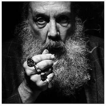 "Alan Moore // ""In order to be able to make it, you have to put aside the fear of failing and the desire of succeeding. You have to do these things completely and purely without fear, without desire. Because things that we do without lust of result are the purest actions we shall ever take."""