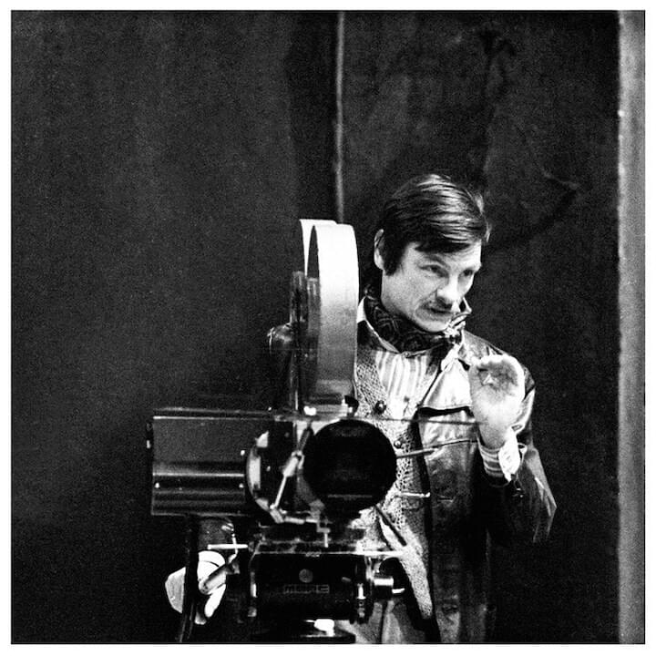 "Andrei Tarkovsky // ""Filmmakers can be divided into two categories: those who strive to imitate the world they live in, to re-create the world that surrounds them...and the directors who create their own worlds. Those who create their own worlds are generally the poets... That is why they have trouble getting their films out. Because the audience is used to a symbolic, nonexistent film world...the result of the audience's own interests and tastes. The directors I named have all opposed this...that the taste of the audience should be the deciding factor. Not because they want to be obscure, but because they actually want to listen secretly. To give expression to what is deep inside those we call the audience."""