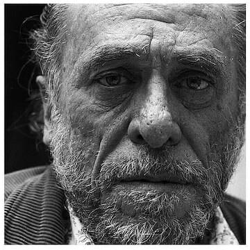 "Charles Bukowski // ""Those faces you see every day on the streets were not created entirely without hope: be kind to them."""