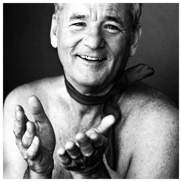 "Bill Murray // ""Friendship is so weird. You just pick a human you've met and you're like, 'Yep, I like this one,' and you just do stuff with them."""