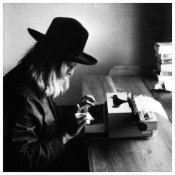 "Richard Brautigan // ""I drank coffee and read old books and waited for the year to end."""