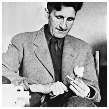 "George Orwell // ""However much you deny the truth, the truth goes on existing."""