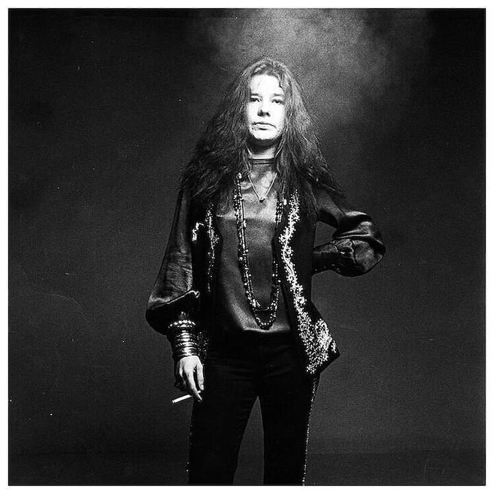 "Janis Joplin // ""You are what you settle for."""