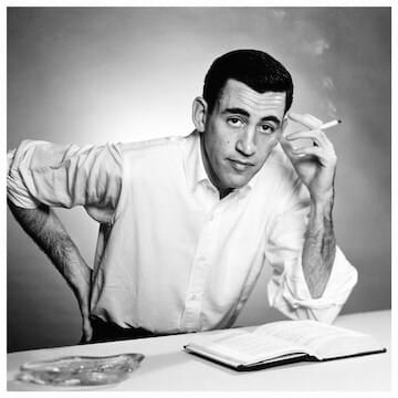 "J.D. Salinger // ""I think that one of these days, you're going to have to find out where you want to go. And then you've got to start going there. But immediately. You can't afford to lose a minute. Not you."""