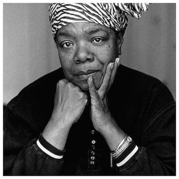 "Maya Angelou // ""At the end of the day people won't remember what you said or did, they will remember how you made them feel."""