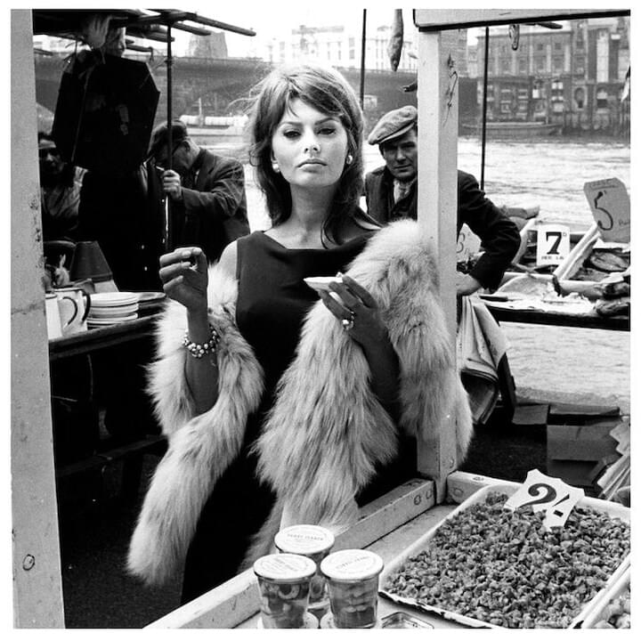 "Sophia Loren // ""When I'm walking along in the street, I always feel that around the corner, there is something wonderful waiting for me. That's my attitude."""