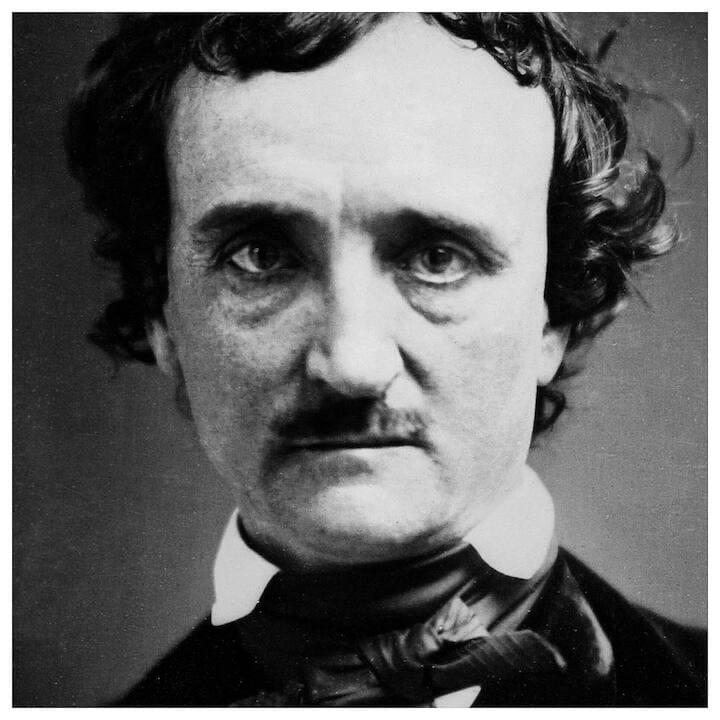 "Edgar Allan Poe // ""Invisible things are the only realities."""
