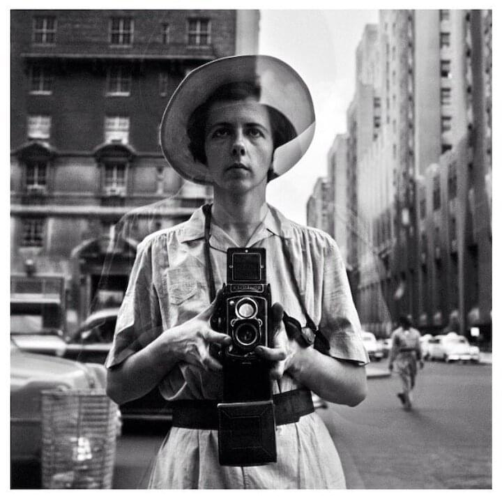 "Vivian Maier // ""Well I suppose nothing is meant to last forever. We have to make room for other people. It's a wheel...you get on, you have to go to the end, and then somebody else takes their place. Now I'm going to close and quickly run next door to do my work."""