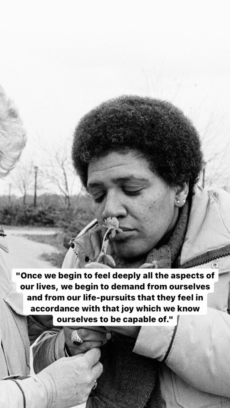 Photo of Audre Lorde
