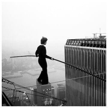 Photo of Philippe Petit