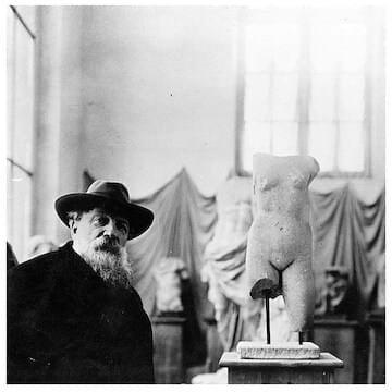Photo of Auguste Rodin